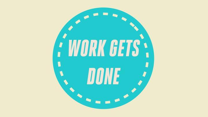 WORK GETS