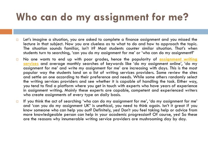 'Will You Help Me Write My Assignment For Me Adequately?' Definitely!