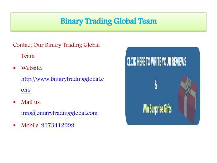 Global option binary trading