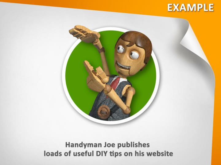 Handyman Joe publishes loads of useful DIY tips on his website