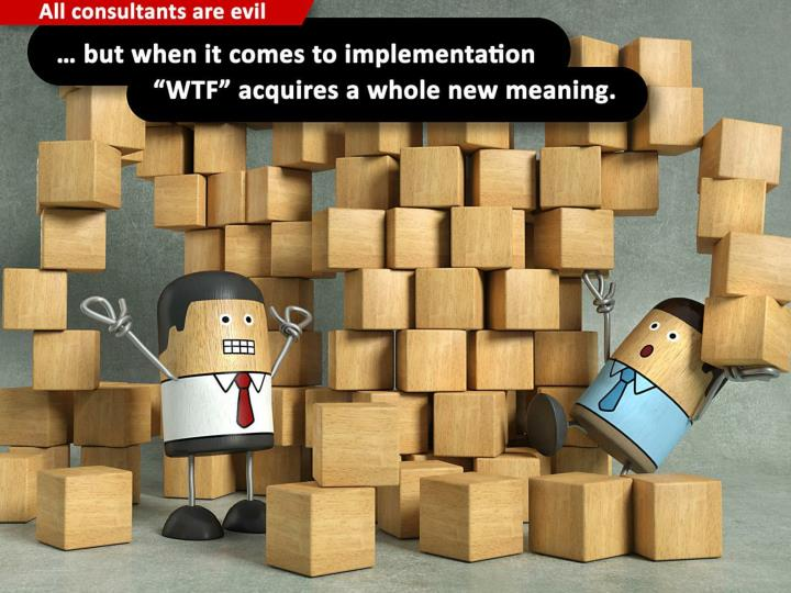 """… but when it comes to implementation """"WTF"""" acquires a whole new meaning."""
