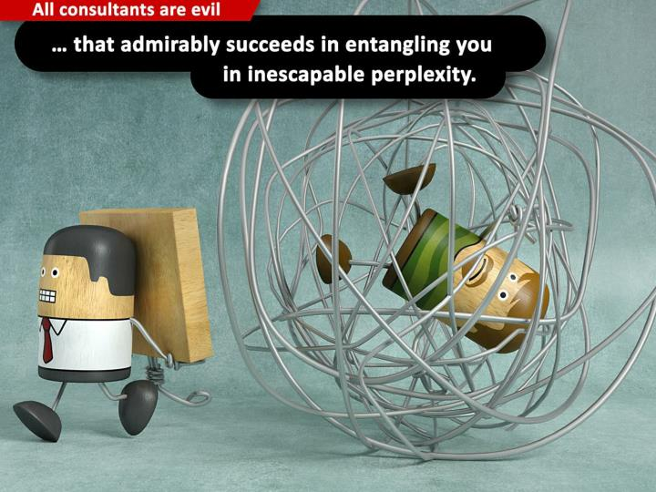 … that admirably succeeds in entangling you in inescapable perplexity.