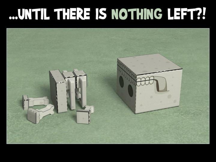 …until there is nothing left?!