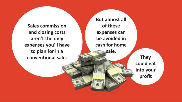 Sales commission and closing costs aren