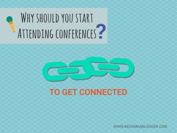 Why should you start attending conferences