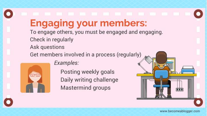 Engaging your members:
