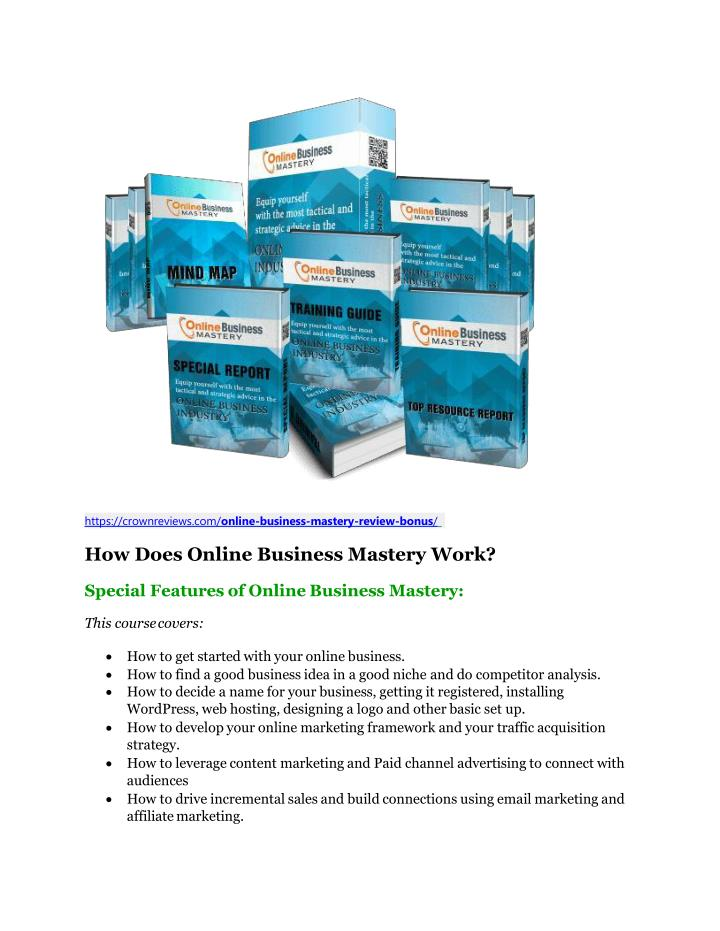 Https crownreviews com online business mastery