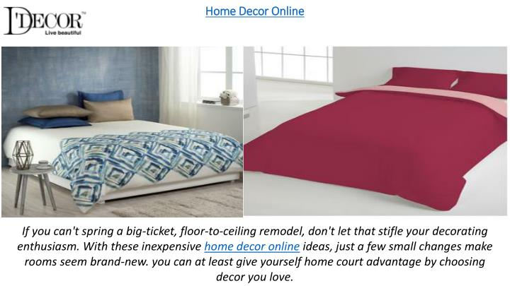 Home Decor Online