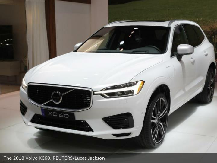 The 2018 Volvo XC60. REUTERS/Lucas Jackson