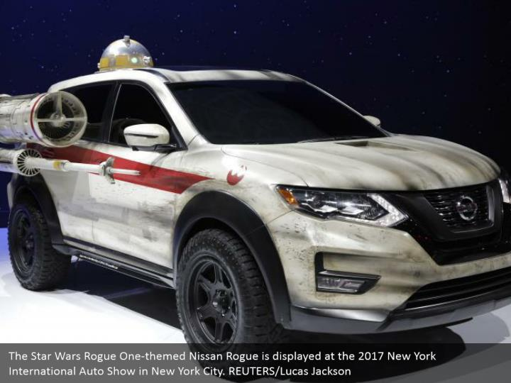 The star wars rogue one themed nissan rogue