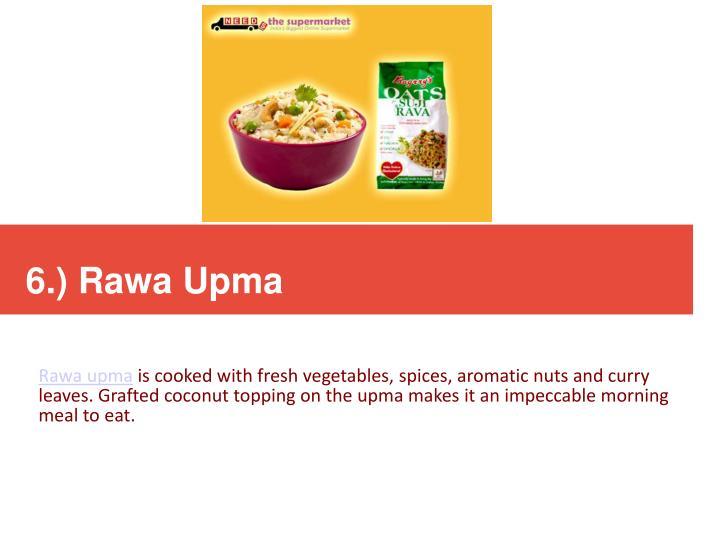 6.) Rawa Upma