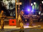 armed soldiers secure the champs elysees avenue