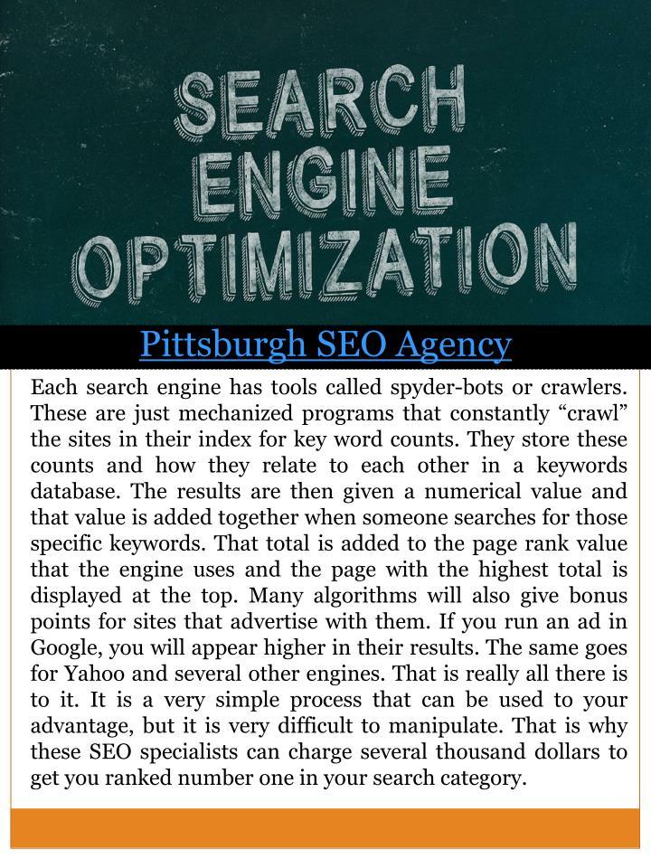 Pittsburgh SEO Agency