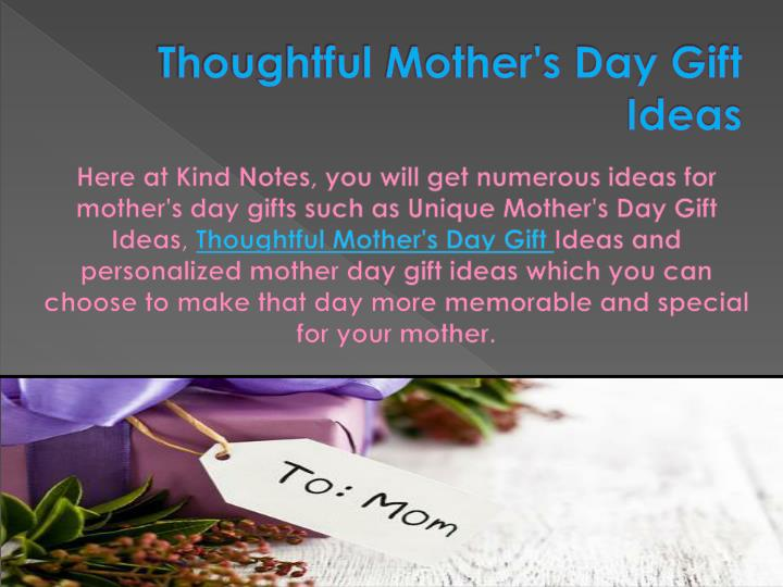 Ppt Personalized Mother 39 S Day Gifts Powerpoint