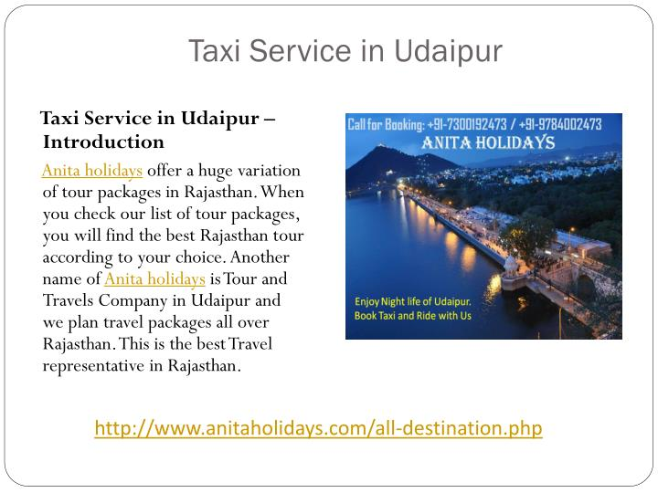 Taxi service in udaipur1