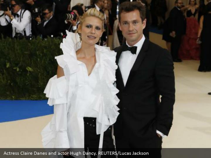 Actress Claire Danes and actor Hugh Dancy. REUTERS/Lucas Jackson