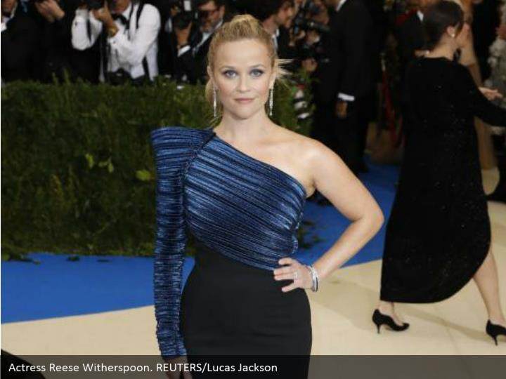 Actress Reese Witherspoon. REUTERS/Lucas Jackson