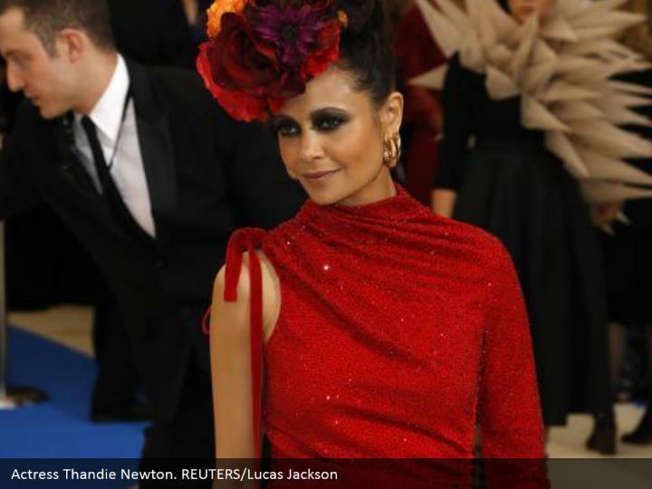 Actress Thandie Newton. REUTERS/Lucas Jackson