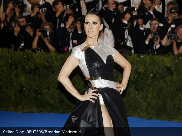 Celine Dion. REUTERS/Brendan Mcdermid