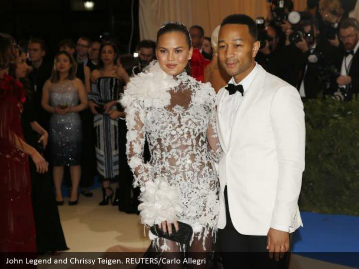 John Legend and Chrissy Teigen. REUTERS/Carlo Allegri