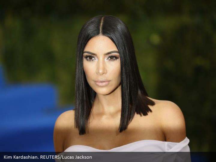 Kim Kardashian. REUTERS/Lucas Jackson