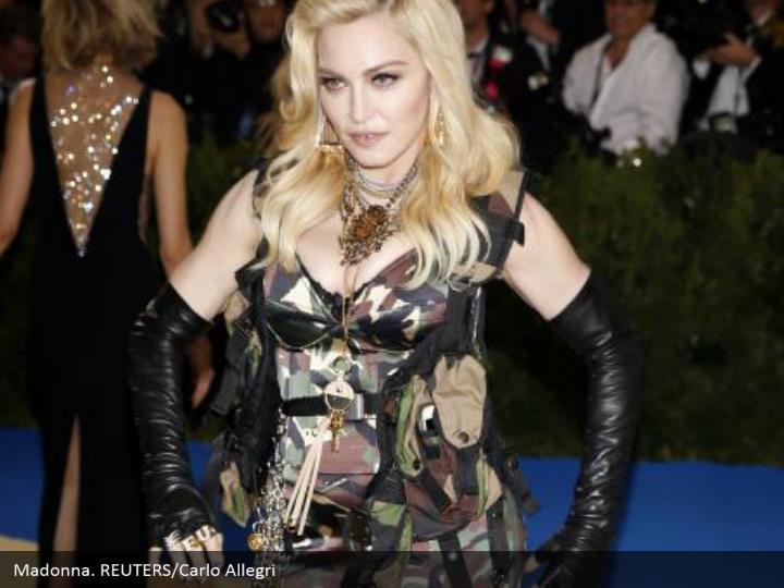 Madonna. REUTERS/Carlo Allegri