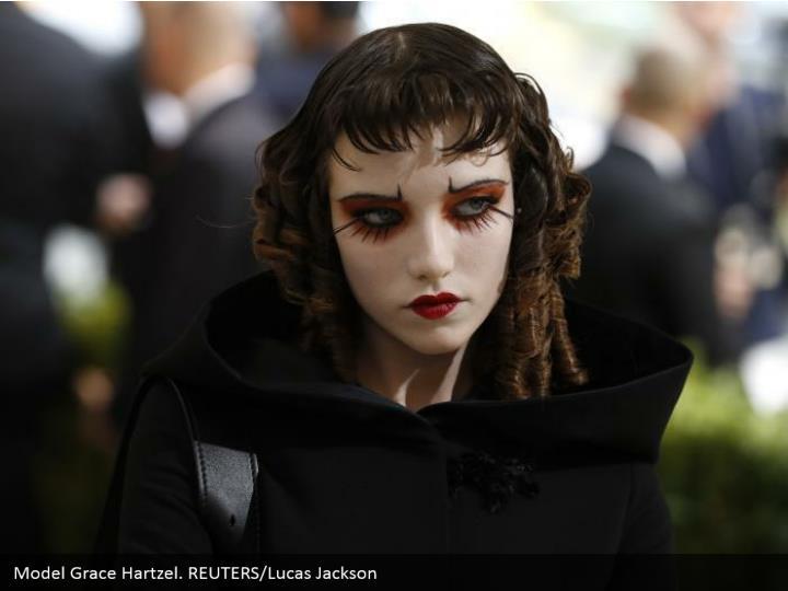 Model Grace Hartzel. REUTERS/Lucas Jackson