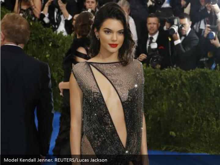 Model Kendall Jenner. REUTERS/Lucas Jackson