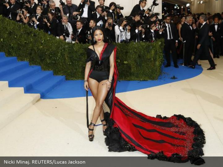 Nicki Minaj. REUTERS/Lucas Jackson
