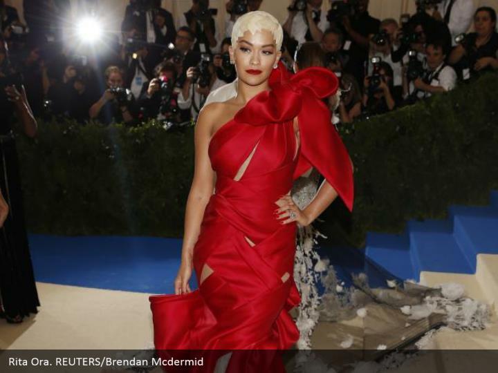 Rita Ora. REUTERS/Brendan Mcdermid