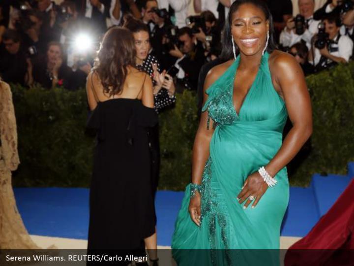 Serena Williams. REUTERS/Carlo Allegri