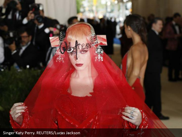 Singer Katy Perry. REUTERS/Lucas Jackson