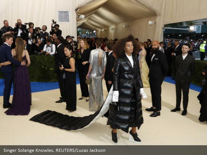 Singer Solange Knowles. REUTERS/Lucas Jackson