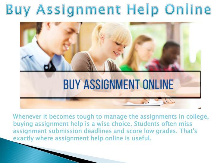 assignment jobs