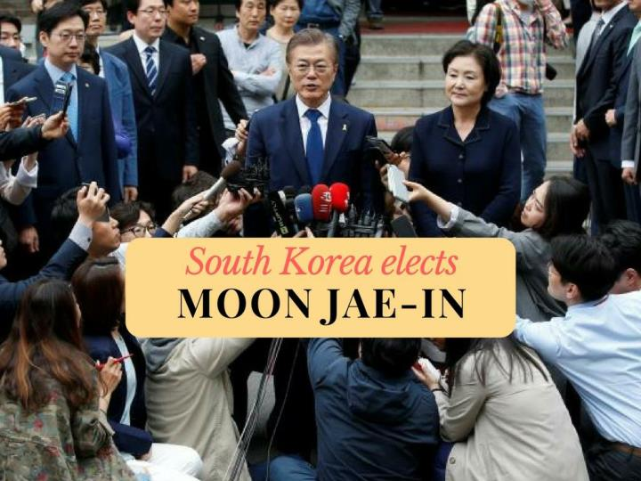 South Korea elects Moon Jae-in