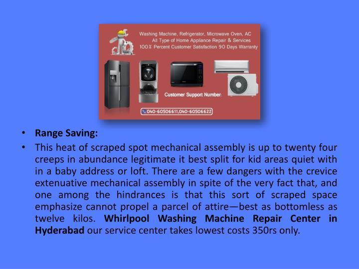 Range Saving: