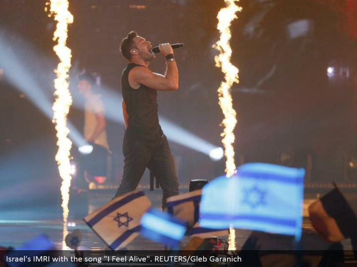 "Israel's IMRI with the song ""I Feel Alive"". REUTERS/Gleb Garanich"
