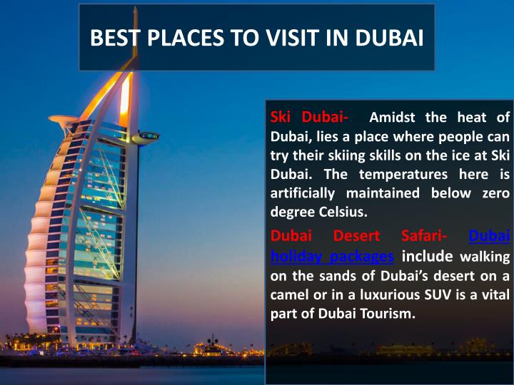 Ppt dubai tourism powerpoint presentation id 7579261 for Dubai places to stay