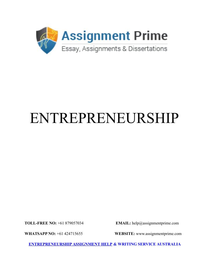 Write my dissertation entrepreneurship
