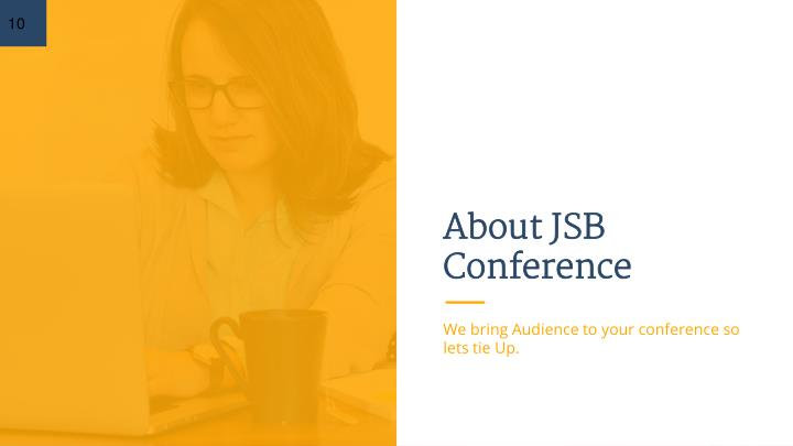 About JSB Conference