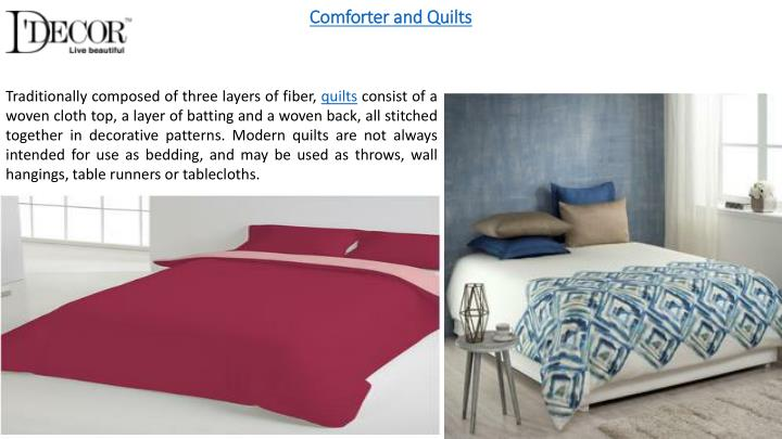 Comforter and Quilts