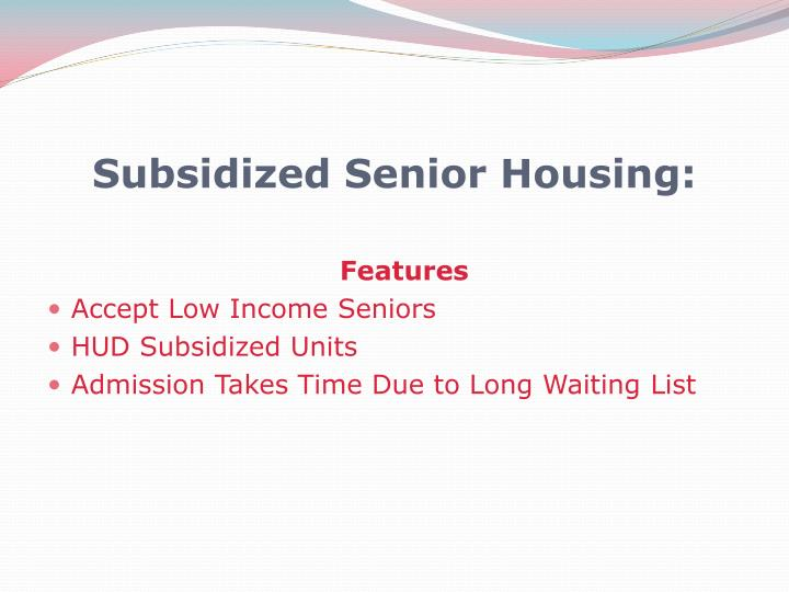 how to find subsidized housing