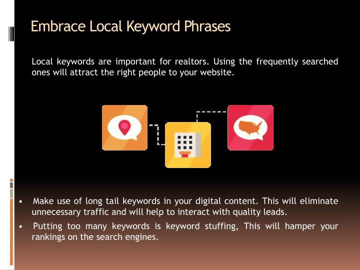 Embrace Local Keyword Phrases