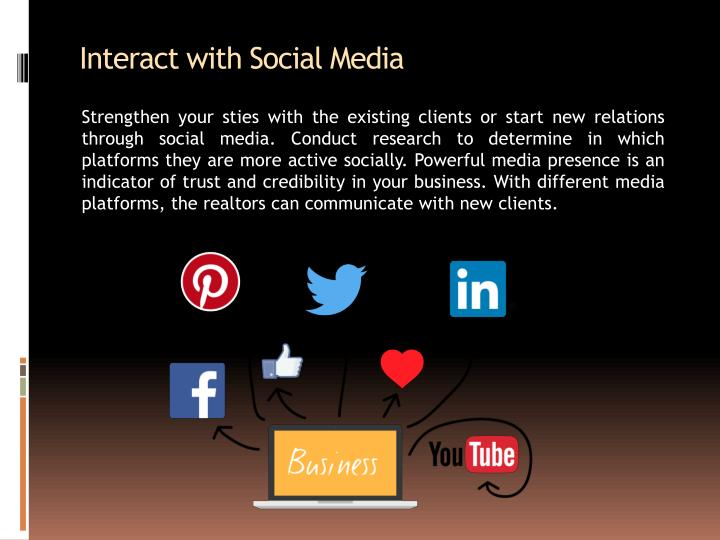 Interact with Social Media