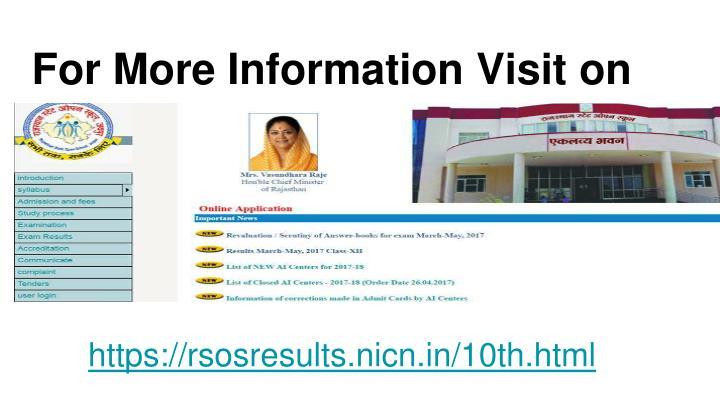 For More Information Visit on