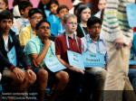 seated contestants watch reuters joshua roberts