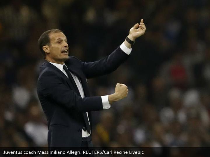 Juventus coach Massimiliano Allegri. REUTERS/Carl Recine Livepic