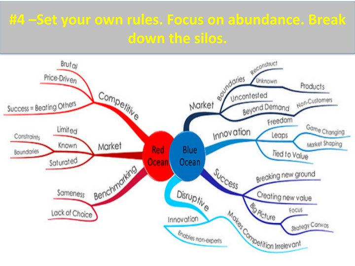 #4  –Set  your  own  rules.  Focus  on  abundance.  Break