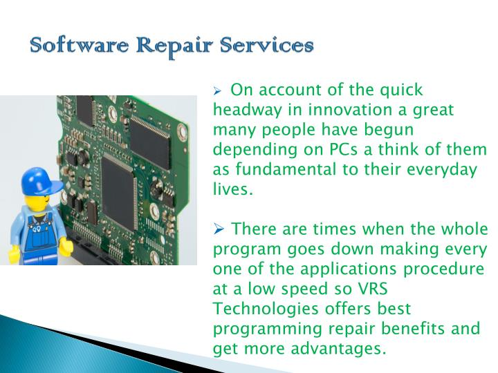 Software Repair Services
