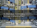 10 does your marketplace leverage a network